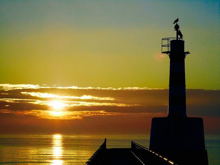 Lighthouse Bathing in Sunlight - Marshall's Camera Locker