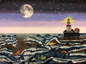 Galveston Jetty Lighthouse