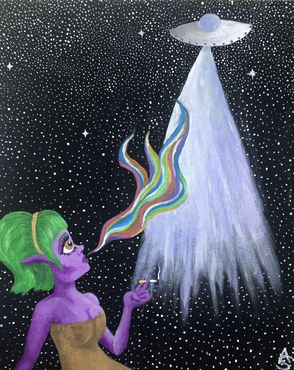 Alien Woman - Ally Smith