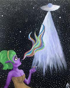 Alien Woman