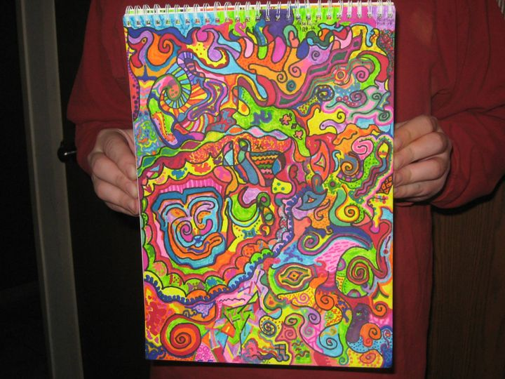 Psychedelic Overload - Psychedelic Artistry llc.