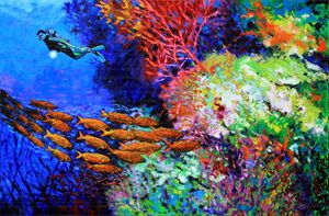 A Flash of Life and Color - Paintings by John Lautermilch