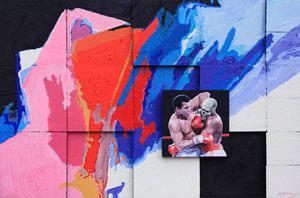 Ali's Last Fight - Paintings by John Lautermilch