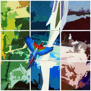 Primary Flight - Paintings by John Lautermilch