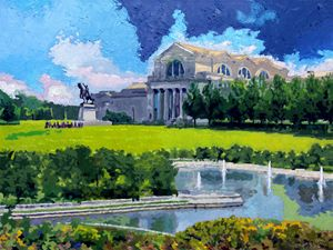 St. Louis City Art Museum - Paintings by John Lautermilch