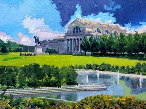 St. Louis City Art Museum - Paintings by John Lautermilch