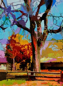 Autumn In Bridgeton - Paintings by John Lautermilch