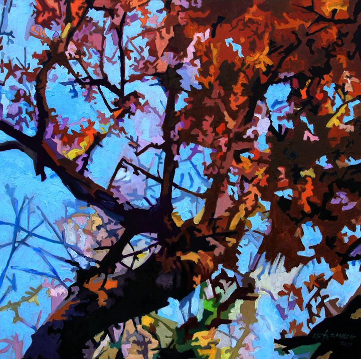 Fall Composition - Paintings by John Lautermilch