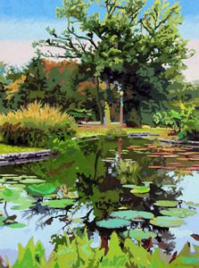 Quiet Time - Paintings by John Lautermilch