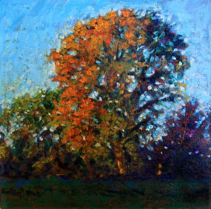 October Morning - Paintings by John Lautermilch