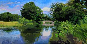 Forest Park Forever - Paintings by John Lautermilch
