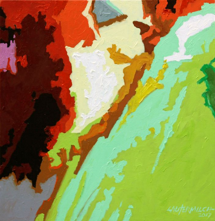 My Abstract Palette - Paintings by John Lautermilch