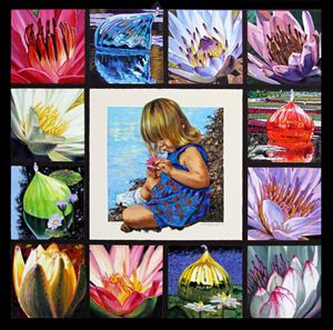 Discovering the Beauty of the Lily - Paintings by John Lautermilch