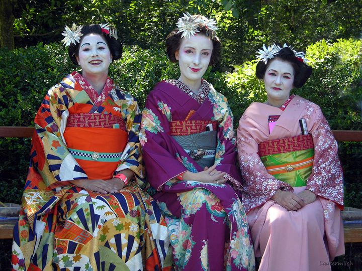Japanese Dress Up - Paintings by John Lautermilch