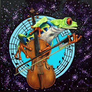 What's It All About Froggy? - Paintings by John Lautermilch