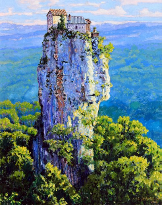 China's Mountain #9 - Paintings by John Lautermilch