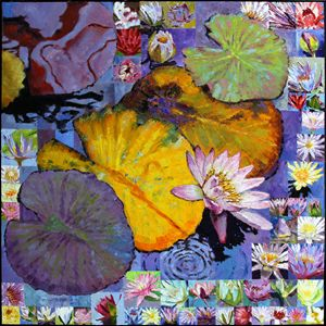 Digital Lilies - Paintings by John Lautermilch