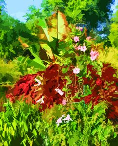 Garden Bouquet - Paintings by John Lautermilch