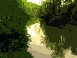 Along the River - Paintings by John Lautermilch