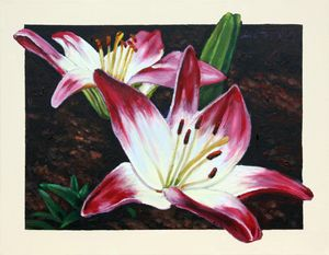 Lily of the Valley - Paintings by John Lautermilch