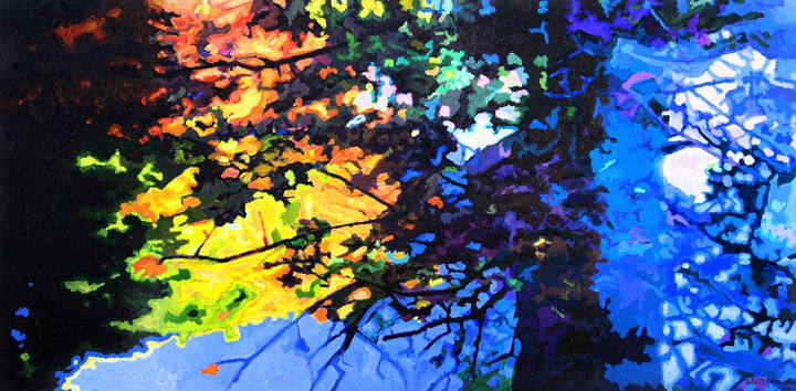 Ghost Trees - Paintings by John Lautermilch