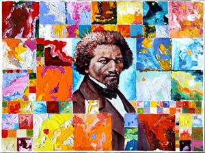 Frederick Douglass - Paintings by John Lautermilch