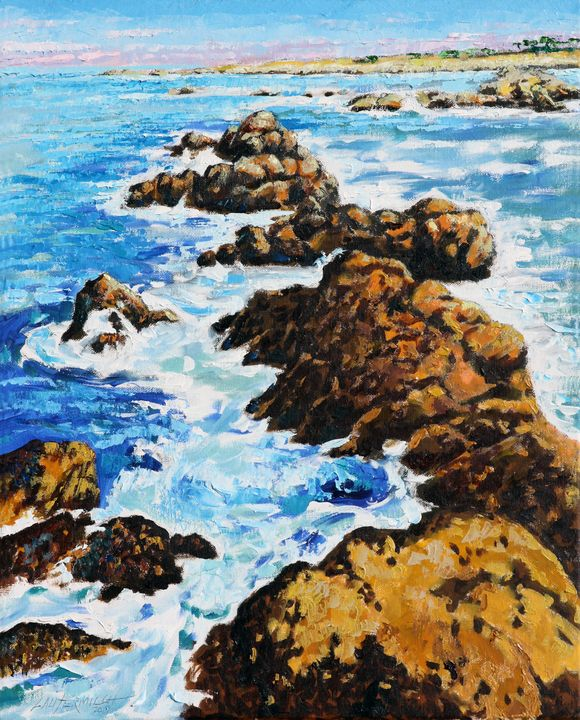 Pacific Coast - Paintings by John Lautermilch