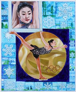 Beauty on Ice - Paintings by John Lautermilch
