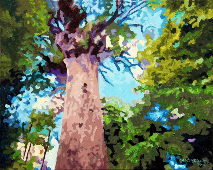 Tree Lover - Paintings by John Lautermilch