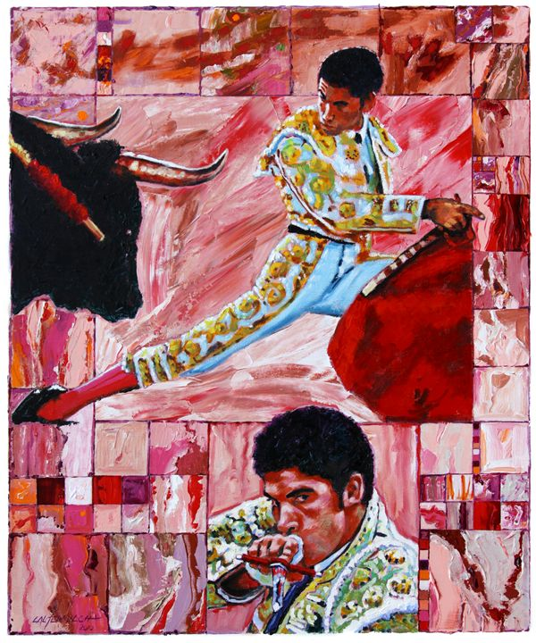 The Matador - Paintings by John Lautermilch