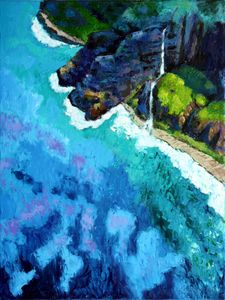 Shoreline - Paintings by John Lautermilch