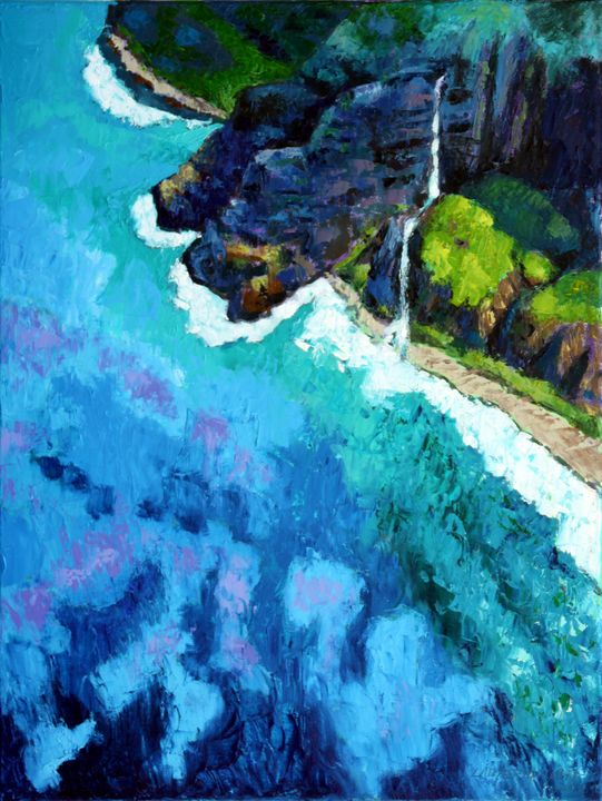 Shoreline - Paintings by John Lautermilch
