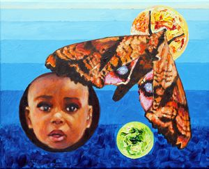 Kennedi Powell - Paintings by John Lautermilch
