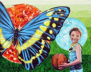 Xavier Lisanga - Paintings by John Lautermilch