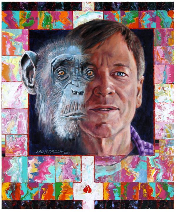 Evolution of the Self Portrait - Paintings by John Lautermilch