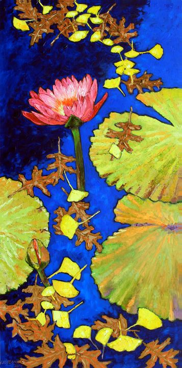 Autumn Patterns - Paintings by John Lautermilch