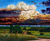 Take Me Home Country Road - Paintings by John Lautermilch