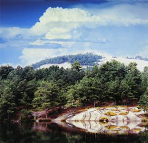 Stone Mountain Georgia two - Paintings by John Lautermilch