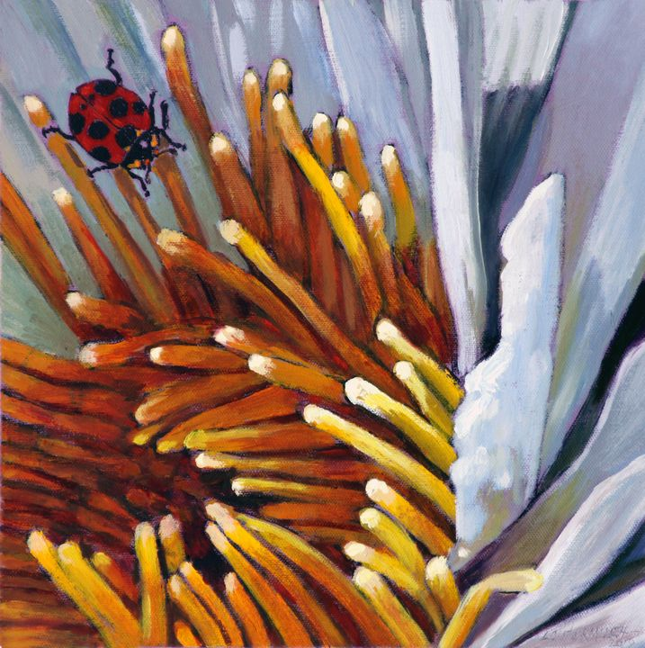 Little Lady Bug - Paintings by John Lautermilch