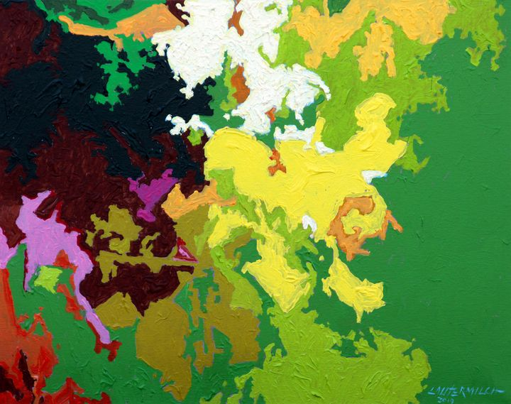 Autumn Patterns 2 - Paintings by John Lautermilch