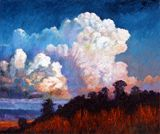 Storm Rolling In - Paintings by John Lautermilch