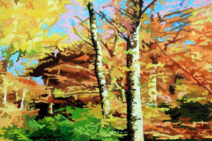 Autumn's Spectacular Display - Paintings by John Lautermilch