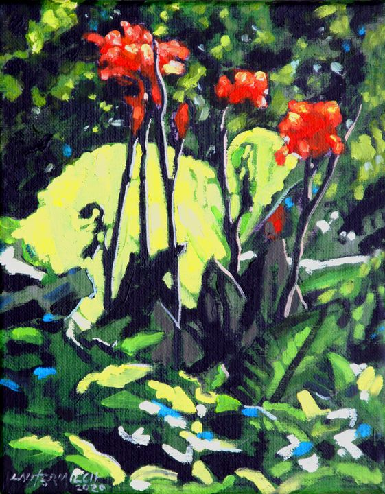 Summer Sunlight - Paintings by John Lautermilch