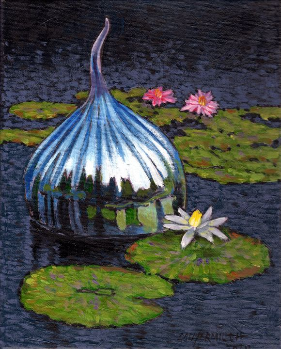 Glass Reflections - Paintings by John Lautermilch