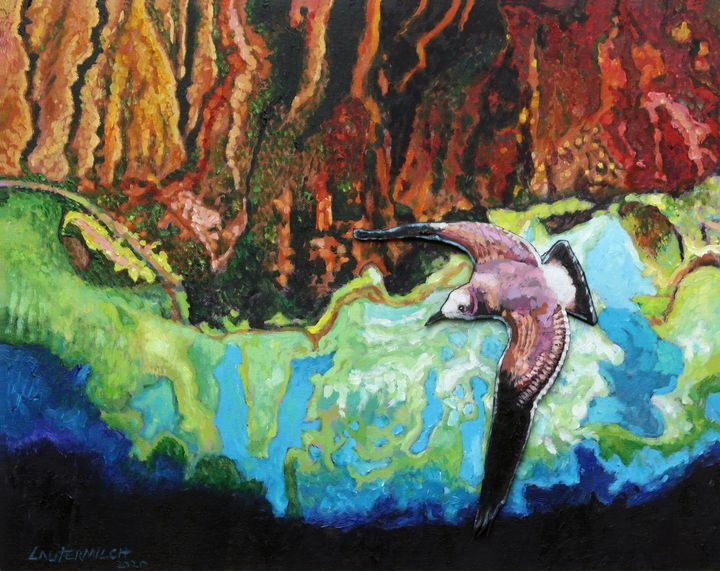 Flying High - Paintings by John Lautermilch