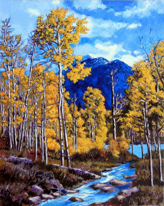 Final Trip to Colorado - Paintings by John Lautermilch
