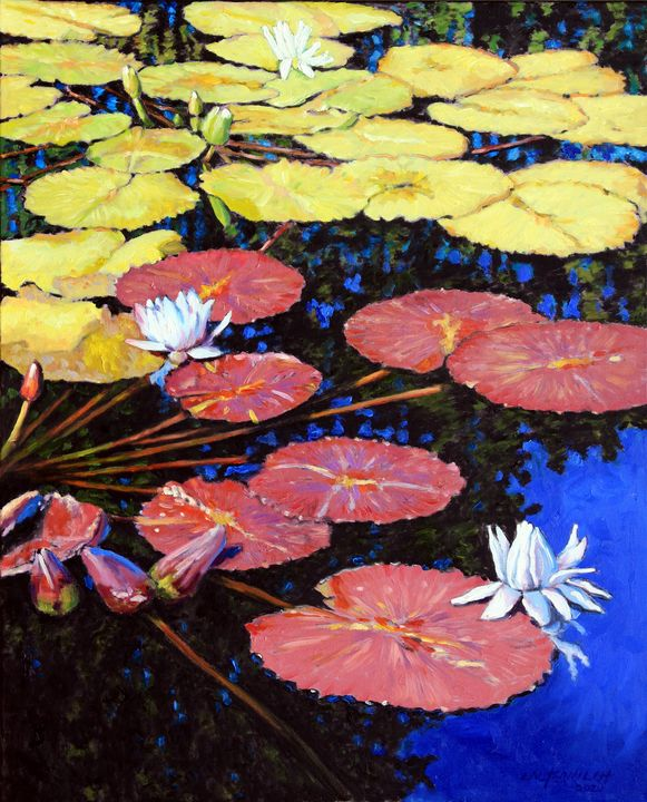 Color Transition - Paintings by John Lautermilch