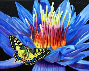 Nature's Fire Works - Paintings by John Lautermilch