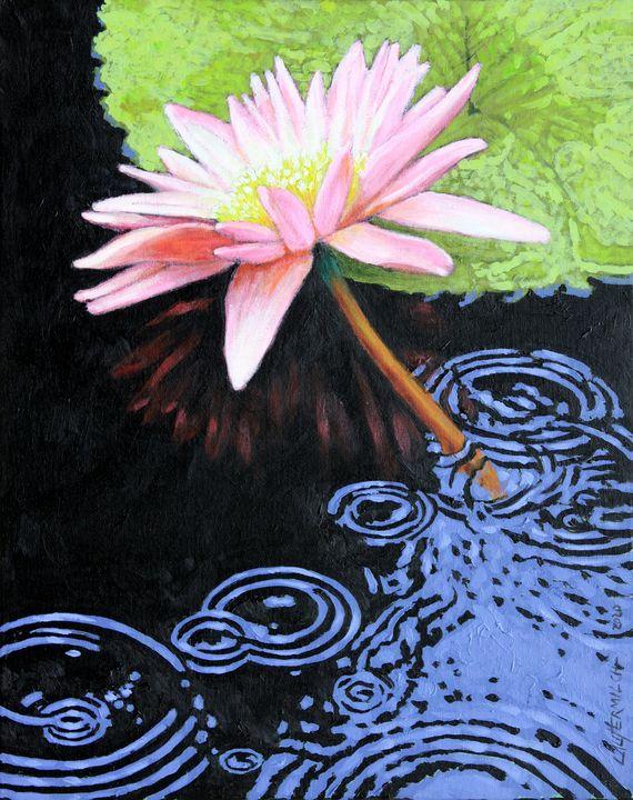 Summer Rain - Paintings by John Lautermilch
