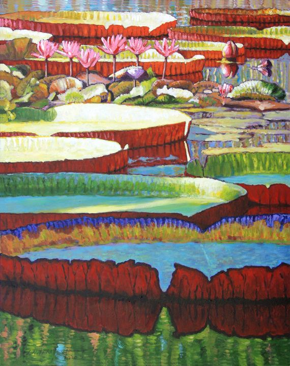 Color Explosion - Paintings by John Lautermilch